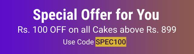 Special Offer for Birthday Cakes
